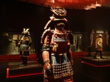 Samurai exhibition at one of the many amazing museums